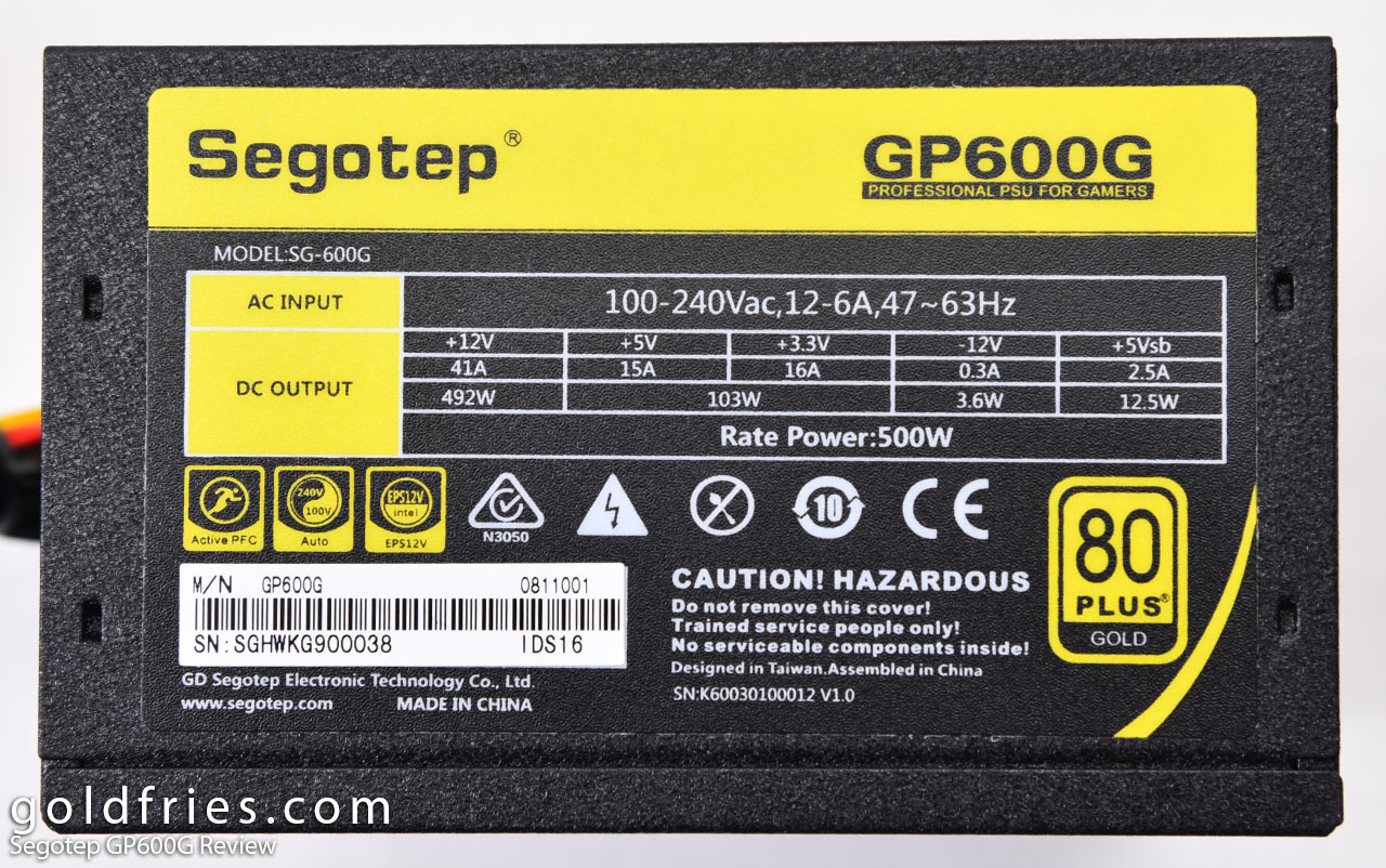 Segotep GP600G Review