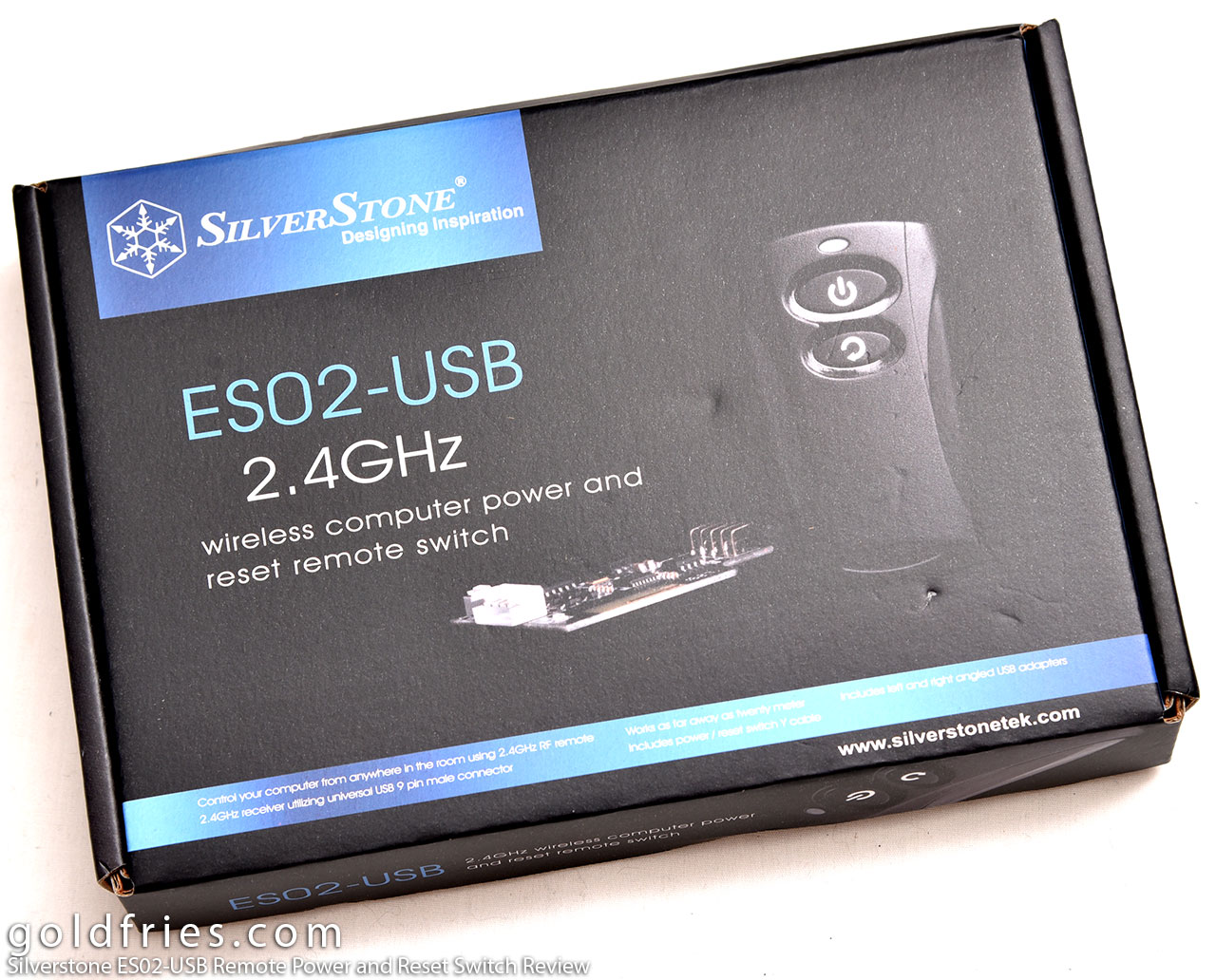 Silverstone ES02-USB Remote Power and Reset Switch Review