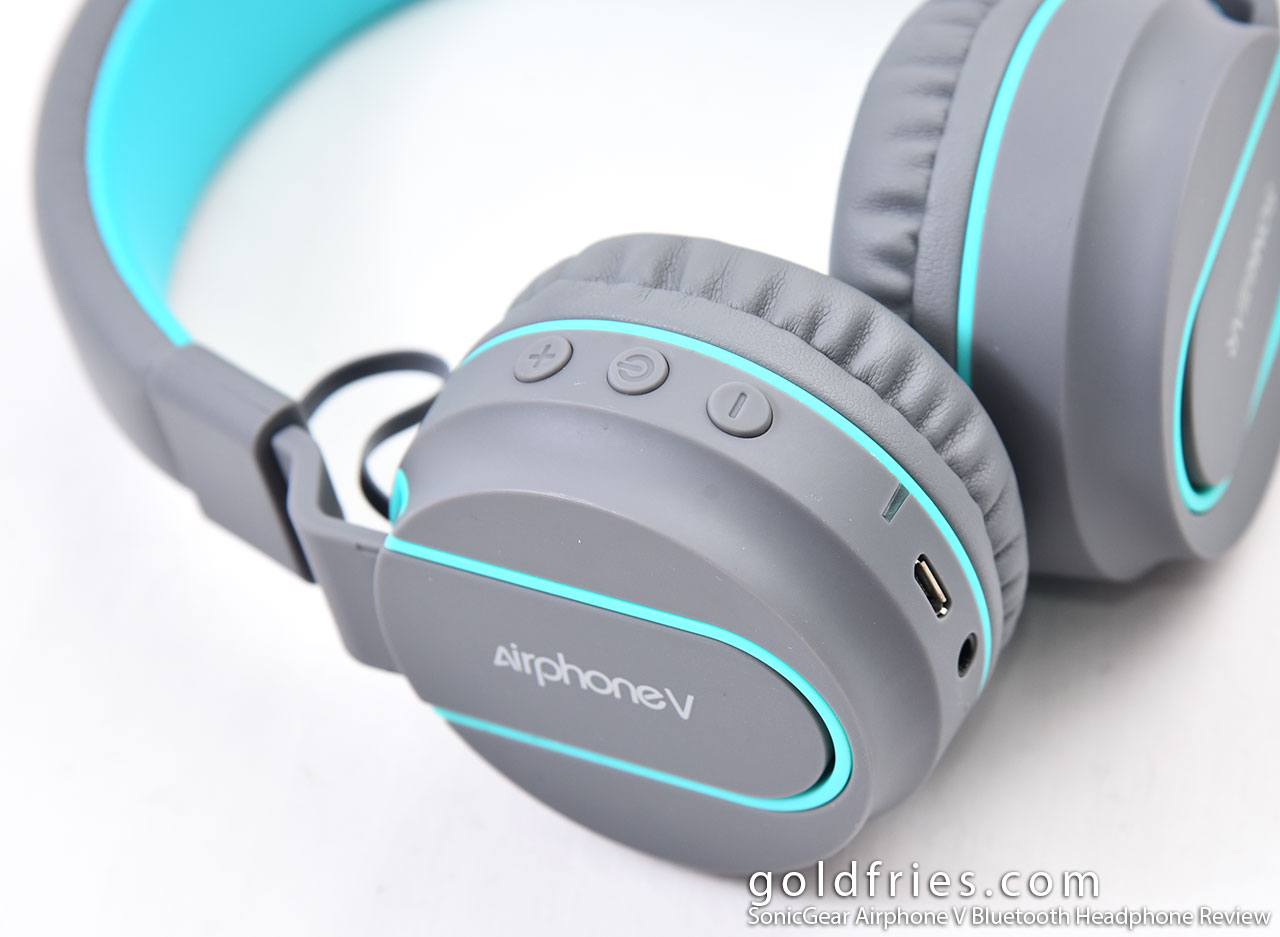 SonicGear Airphone V Bluetooth Headphone Review