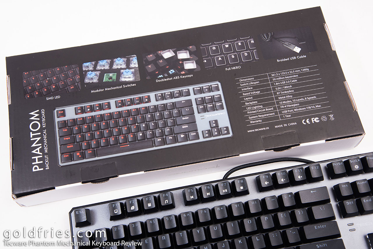Tecware Phantom Mechanical Keyboard Review