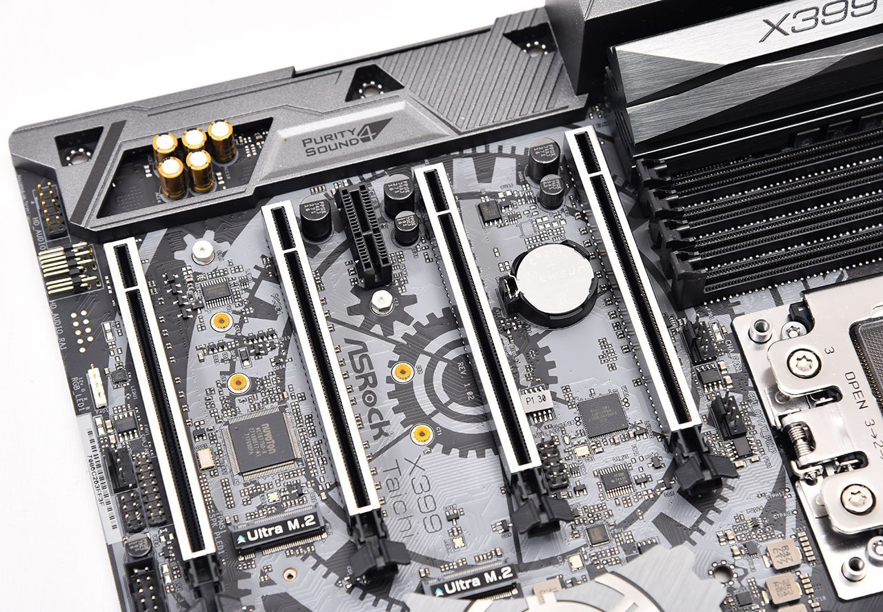 ASRock X399 Taichi Motherboard Review
