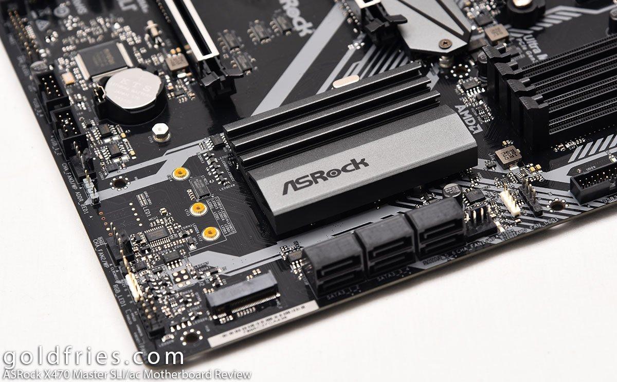ASRock X470 Master SLI/ac Motherboard Review ~ goldfries