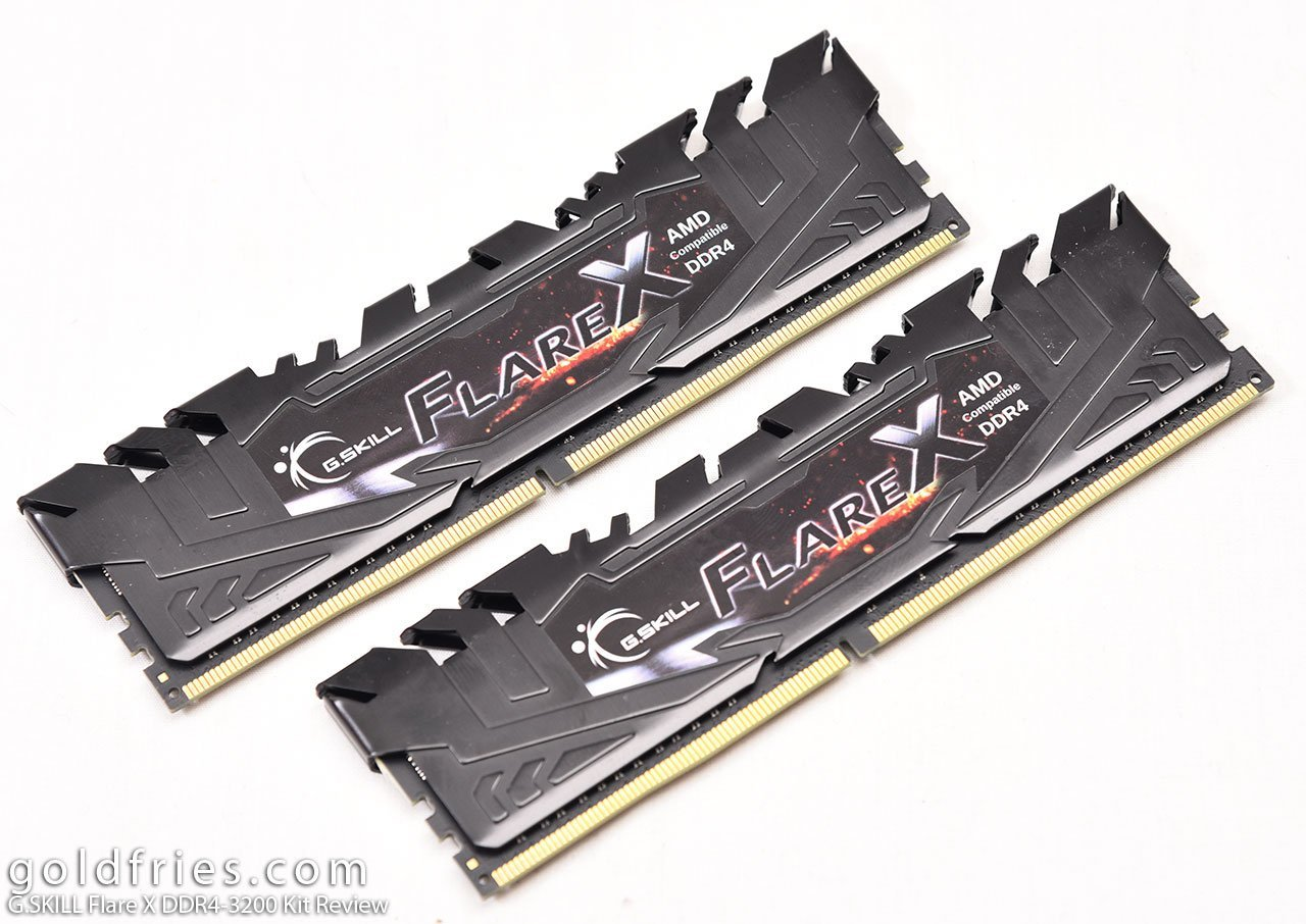 G.SKILL Flare X DDR4-3200 Memory Kit Review