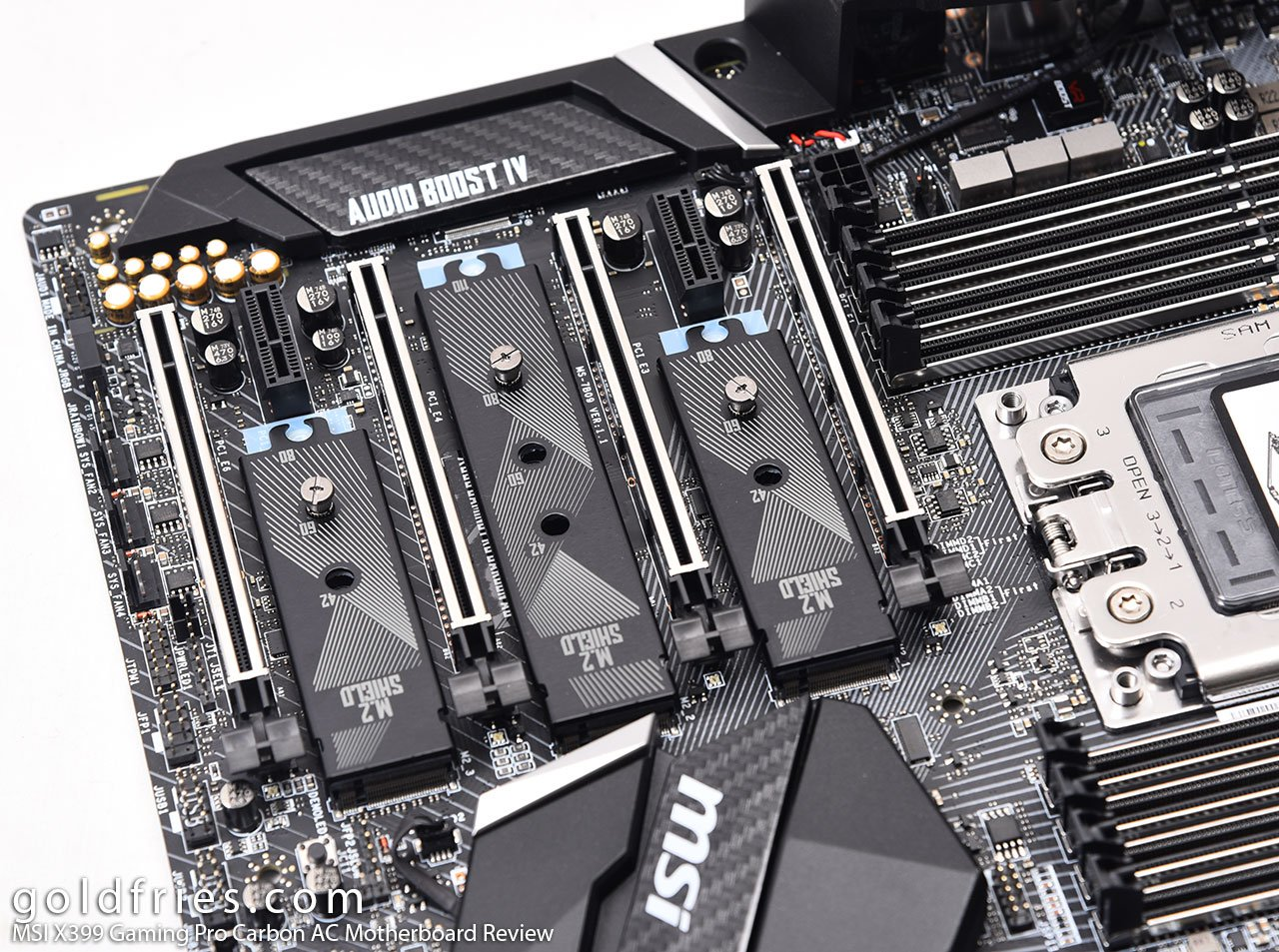 MSI X399 Gaming Pro Carbon AC Motherboard Review