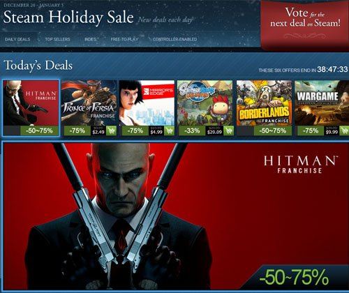 STEAM Holiday Sale 2012 is Here! 1