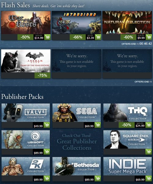 STEAM Holiday Sale 2012 is Here! 2