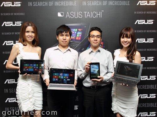 Launch of Asus Taichi Ultrabook, VivoTab Smart and MeMoPad 3