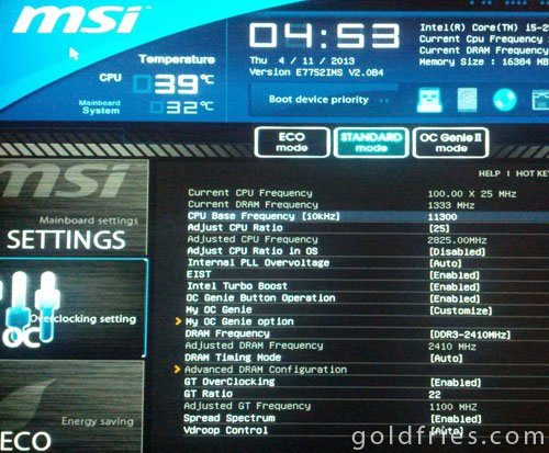 Avexir Core Series DDR3-1600 4GB x2 Dual-Channel Kit Review ~ goldfries