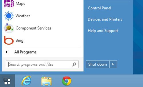Windows 8 1 Start Button - A Huge Disappointment ~ goldfries