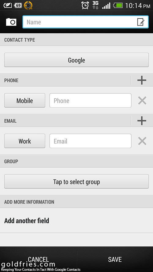 how to add my contacts to google account