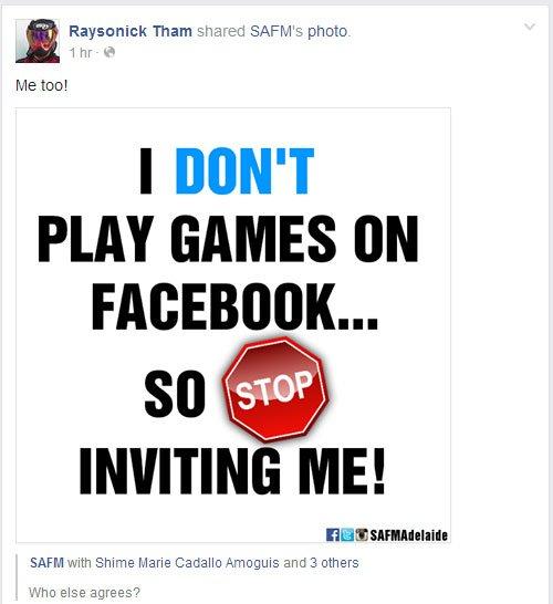 Block Facebook Game Invites is adorable invitation sample
