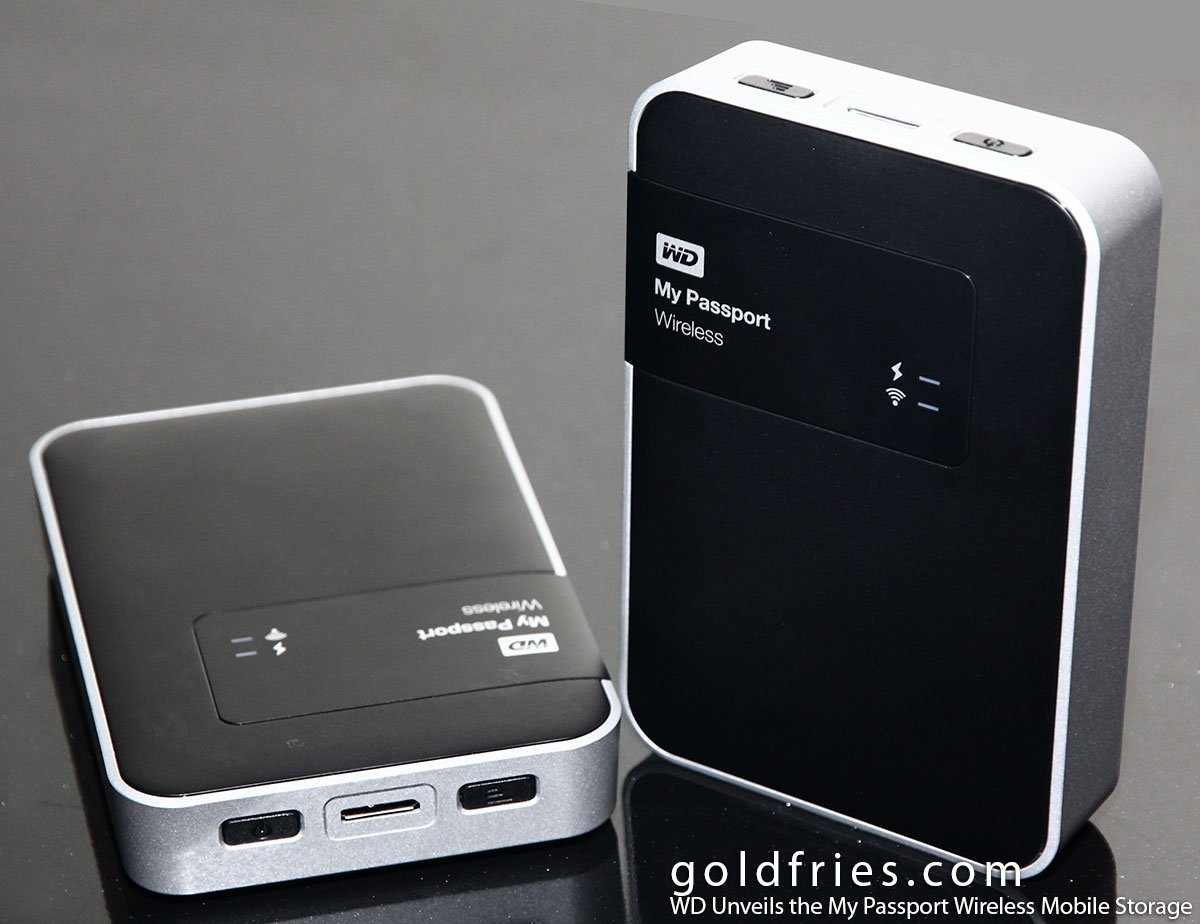 WD My Passport Wireless Mobile Storage Review 2