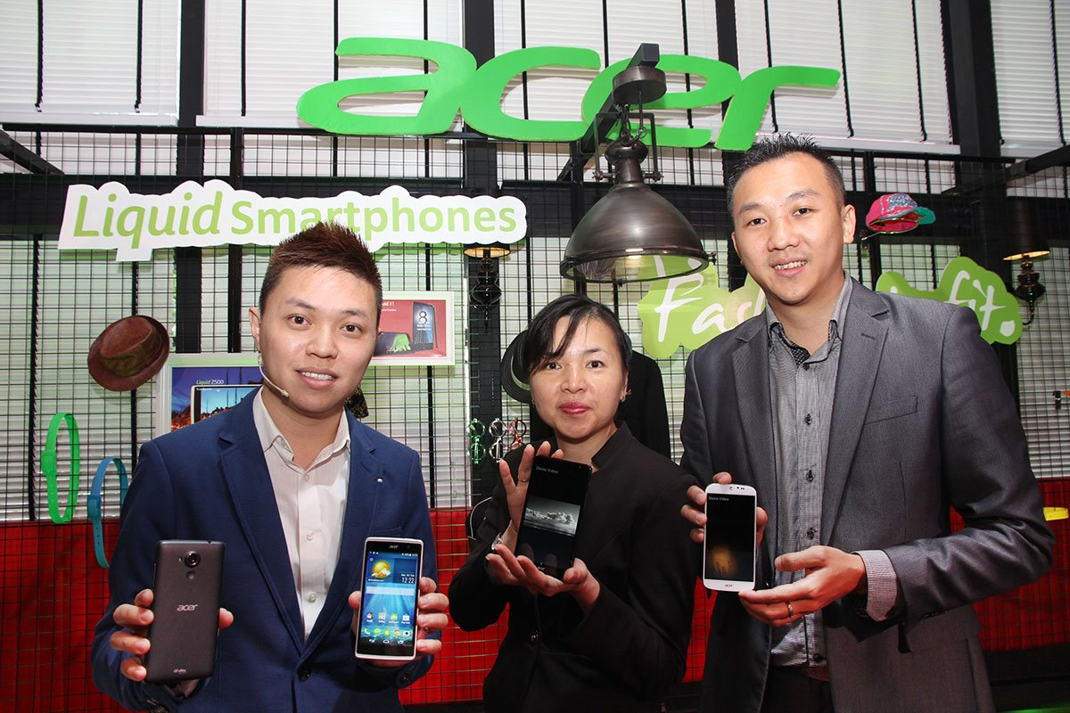 Acer launches 3 new phones - Liquid X1, Jade and Z500 1