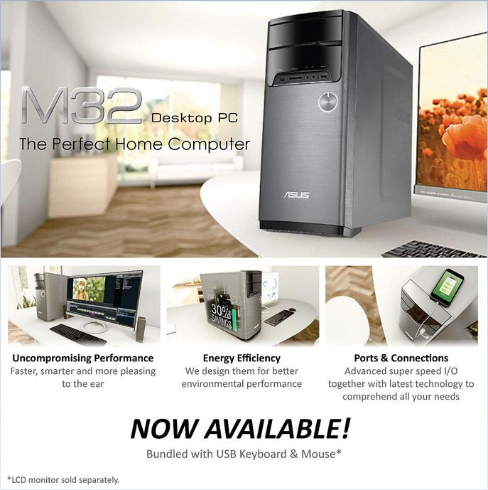ASUS Launches The M32AD Multimedia Desktop PC 3
