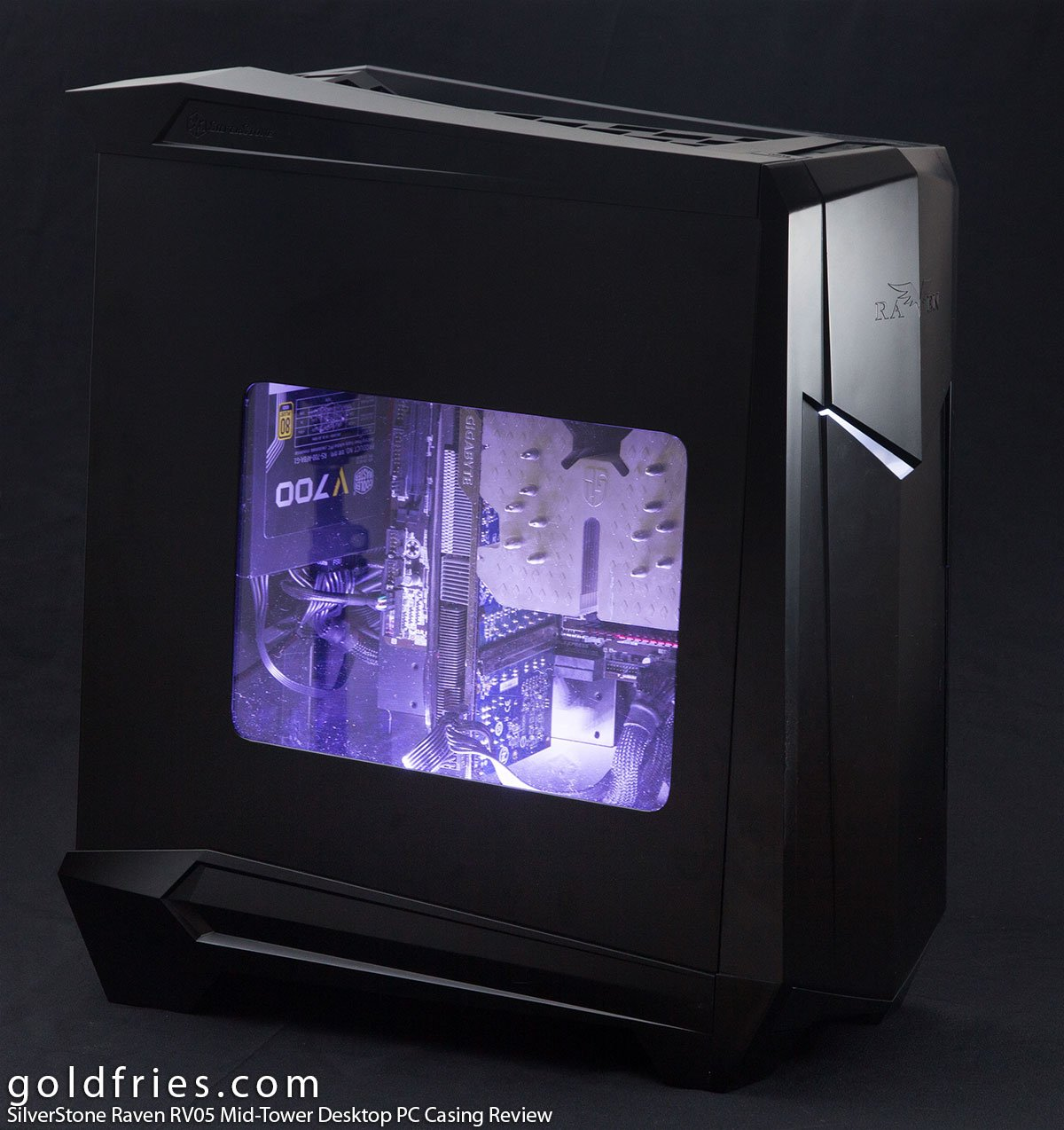 SilverStone Raven RV05 Mid-Tower Desktop PC Casing Review 2