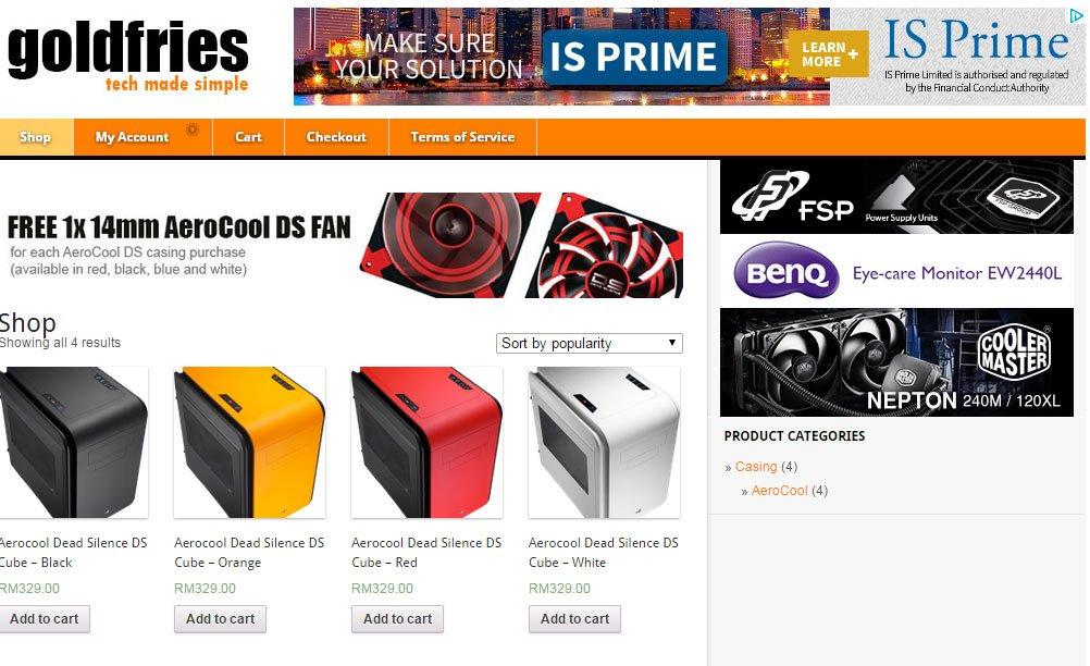 goldfries.com unveils SHOP 1