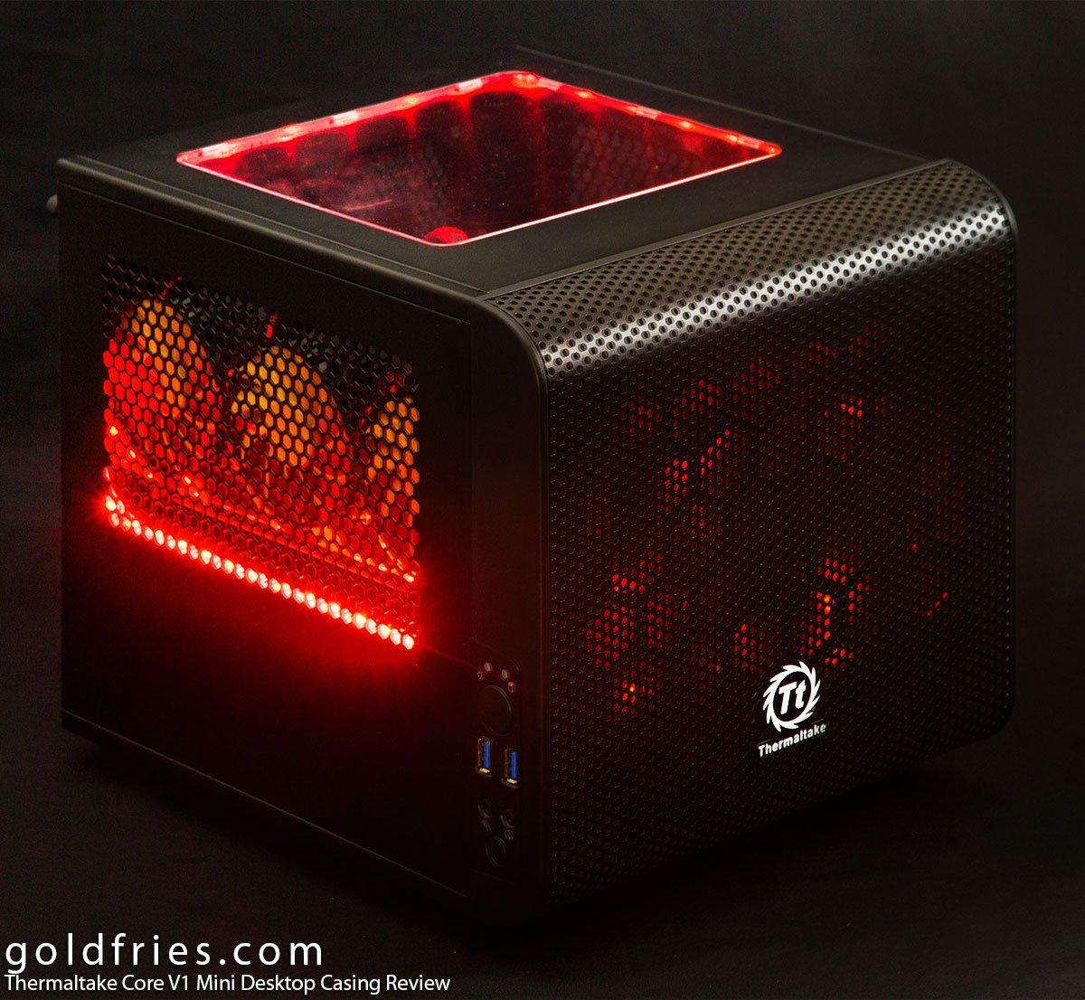 ThermalTake Core V1 Mini Desktop Casing Review 2