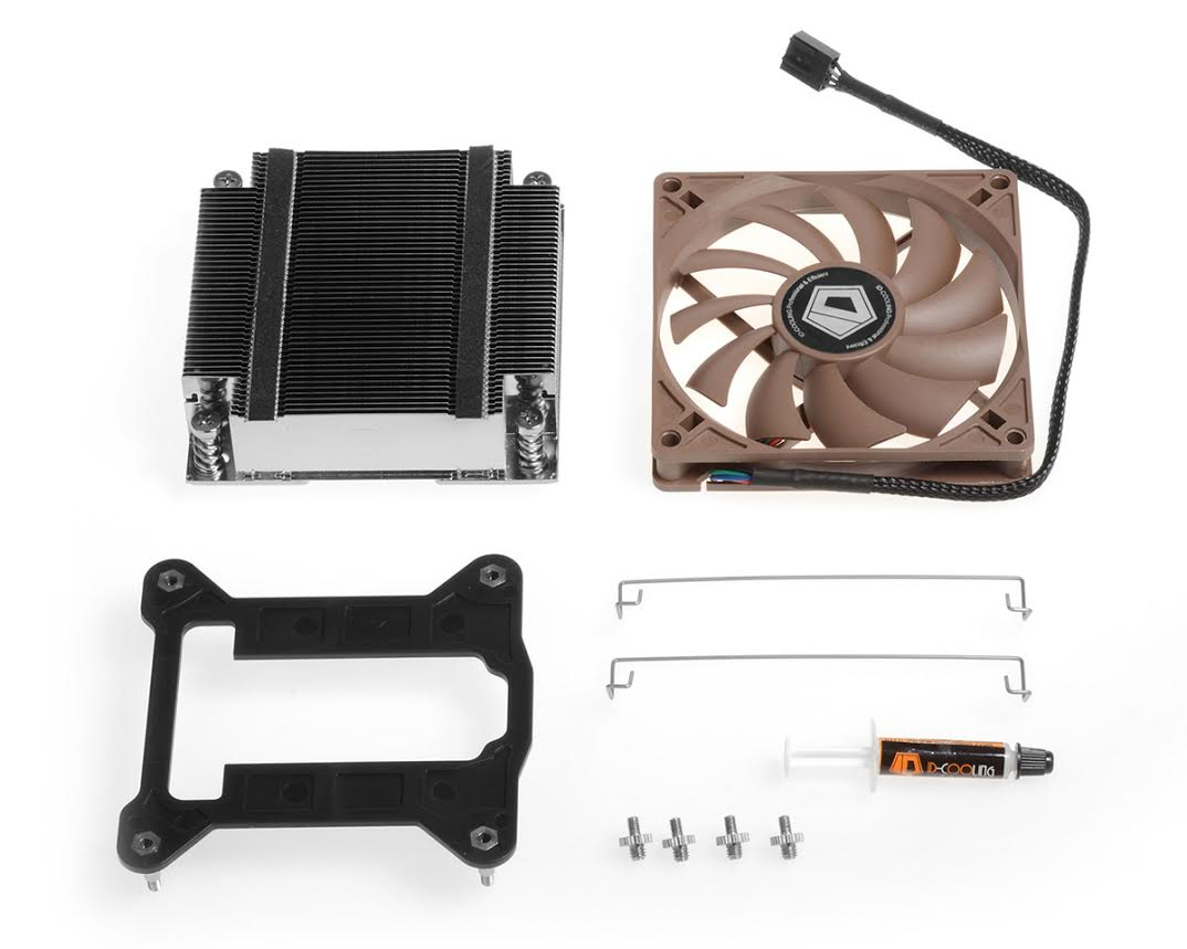 ID-COOLING  IS-VC45 - Vapor Chamber CPU Cooler for Mini-ITX system 8