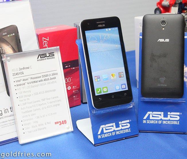 ASUS Malaysia Unveils New Zenfone C Fonepad 7 And EeeBook