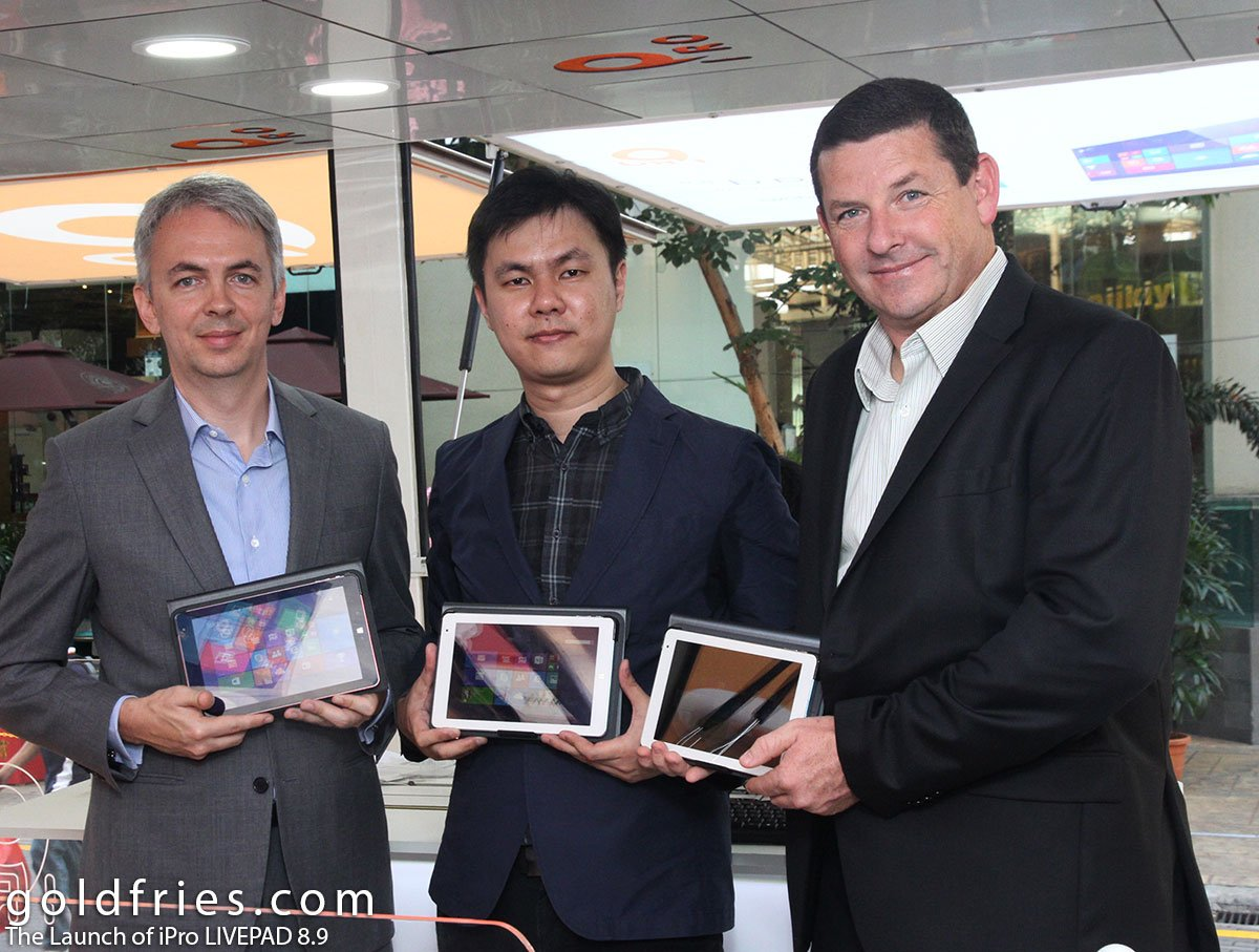 The Launch of iPro LIVEPAD 8.9 2