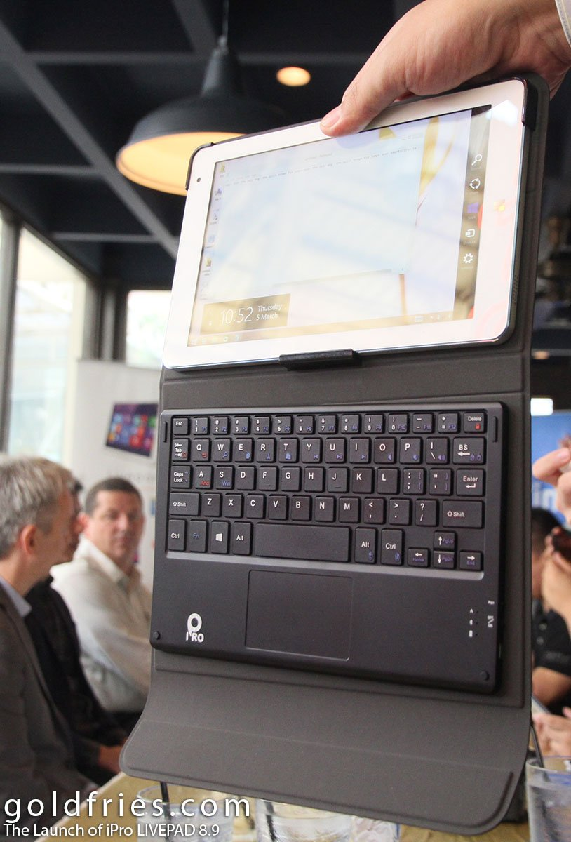 The Launch of iPro LIVEPAD 8.9 3