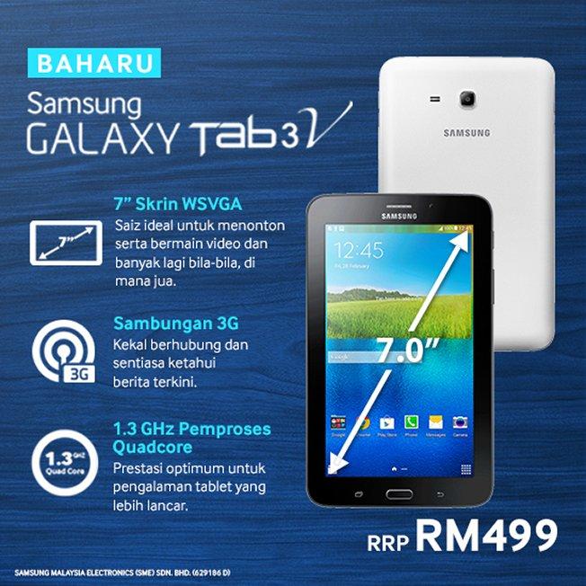 Samsung Introduces the Galaxy Tab3 1