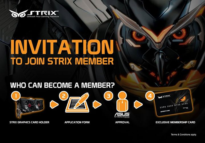 ASUS Malaysia Opens STRIX Membership Registration 1