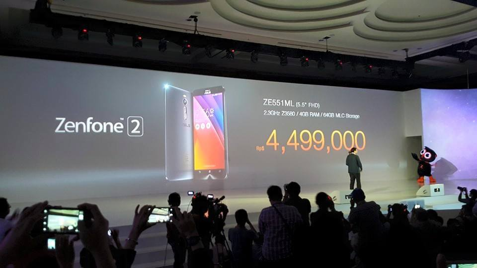 ASUS Launches the Zenfone 2 in Jakarta 1