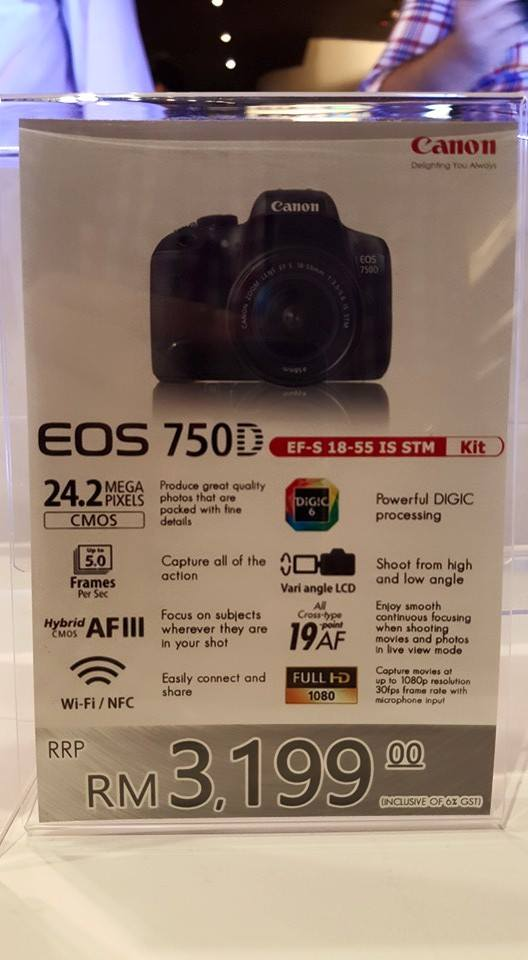Canon Malaysia Launches the EOS 760D, 750D and the Connect Station CS100 7