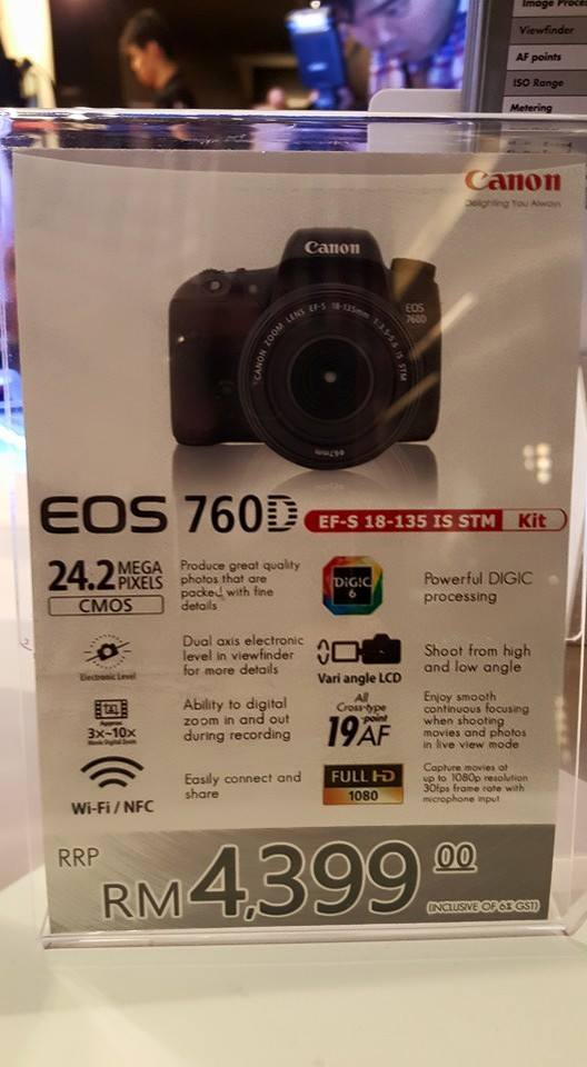 Canon Malaysia Launches the EOS 760D, 750D and the Connect Station CS100 6