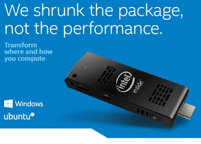 Intel Compute Stick - Convenient, Compact and Capable 11