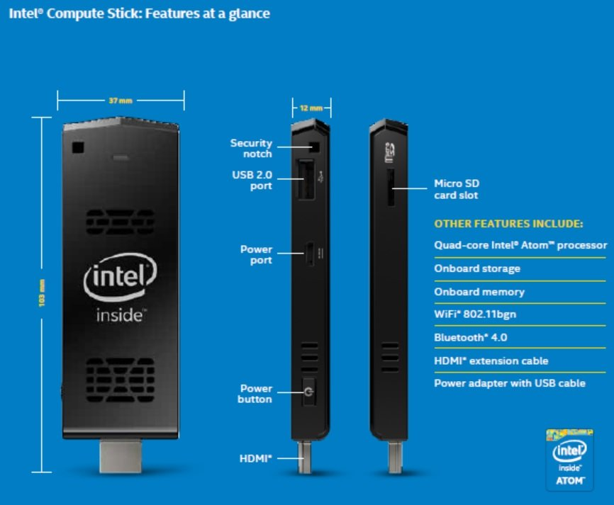 Intel Compute Stick - Convenient, Compact and Capable 12