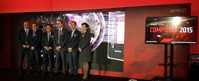 AMD Press Conference at Computex 2015 2