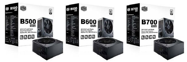 Cooler Master B-series ver.2 Power Supplies Now Available in Malaysia 1