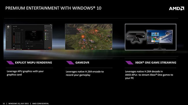 AMD Primed for Windows 10 and DirectX 12 ~ goldfries