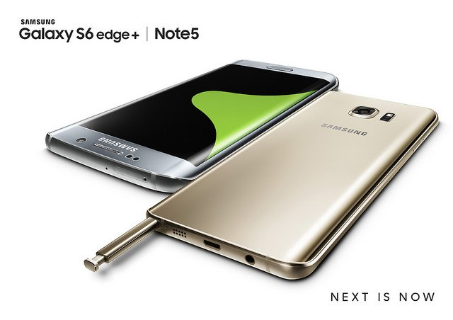 Samsung Launches the Galaxy S6 edge+ and Note5 1