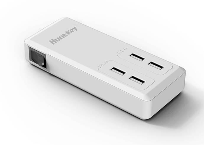 Huntkey Launches SSK407 USB Power Strip 1