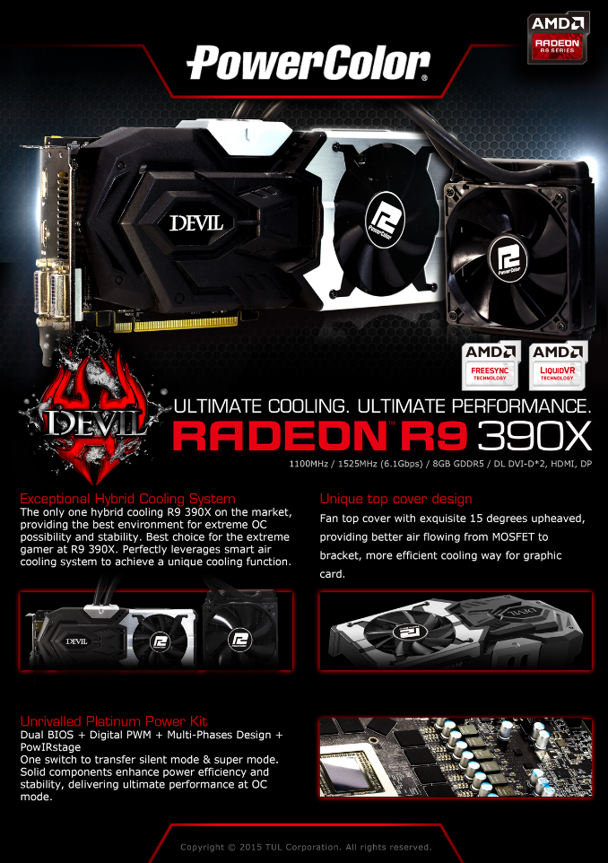 PowerColor Launches the Devil R9 390X 2