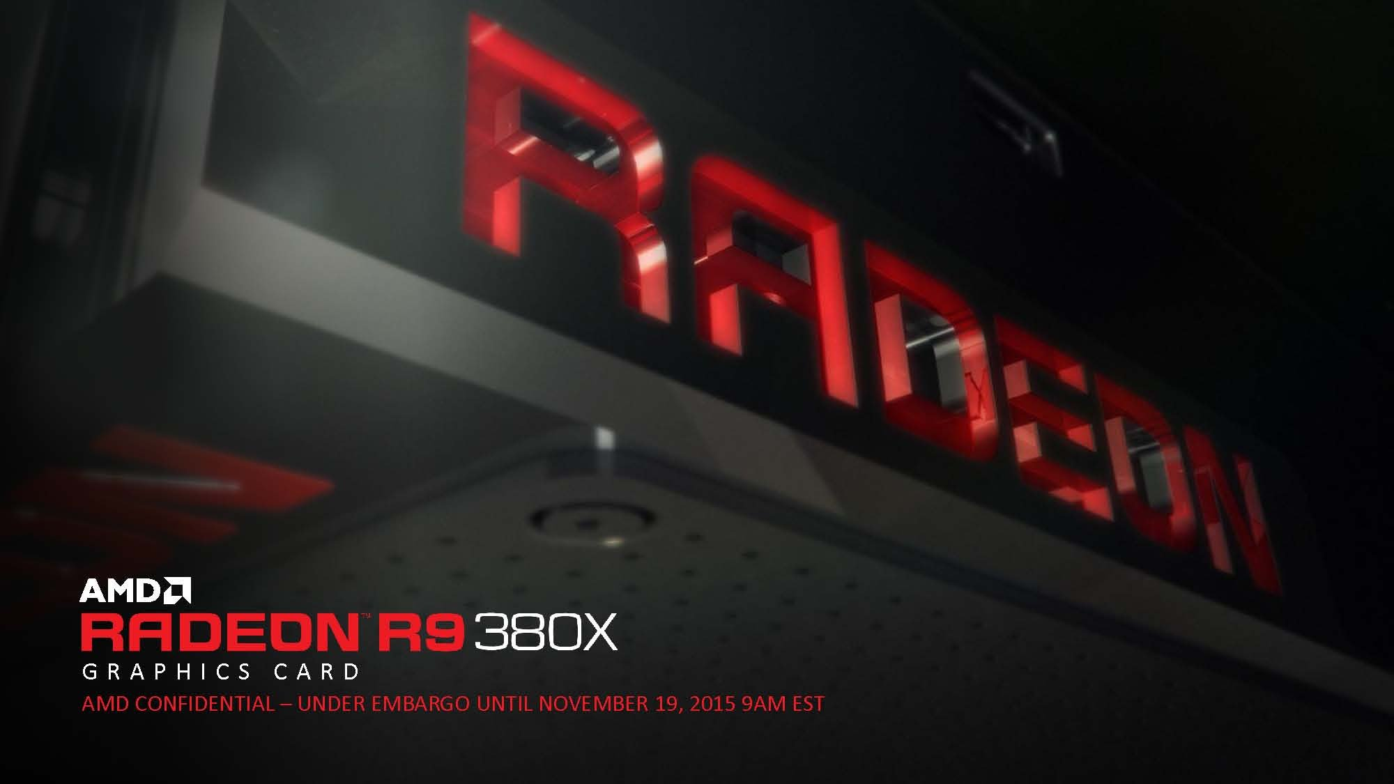 AMD Launches Radeon R9 380X Graphics Card 1