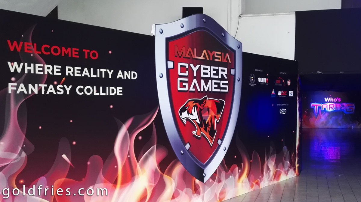 First Ever Malaysia Cyber Games Launched 7