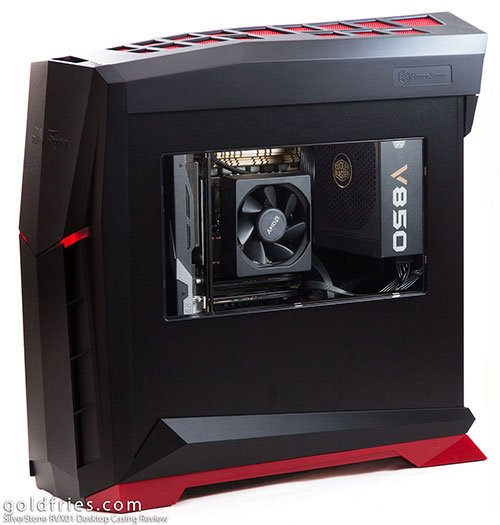 SilverStone RVX01 Desktop Casing Review 1