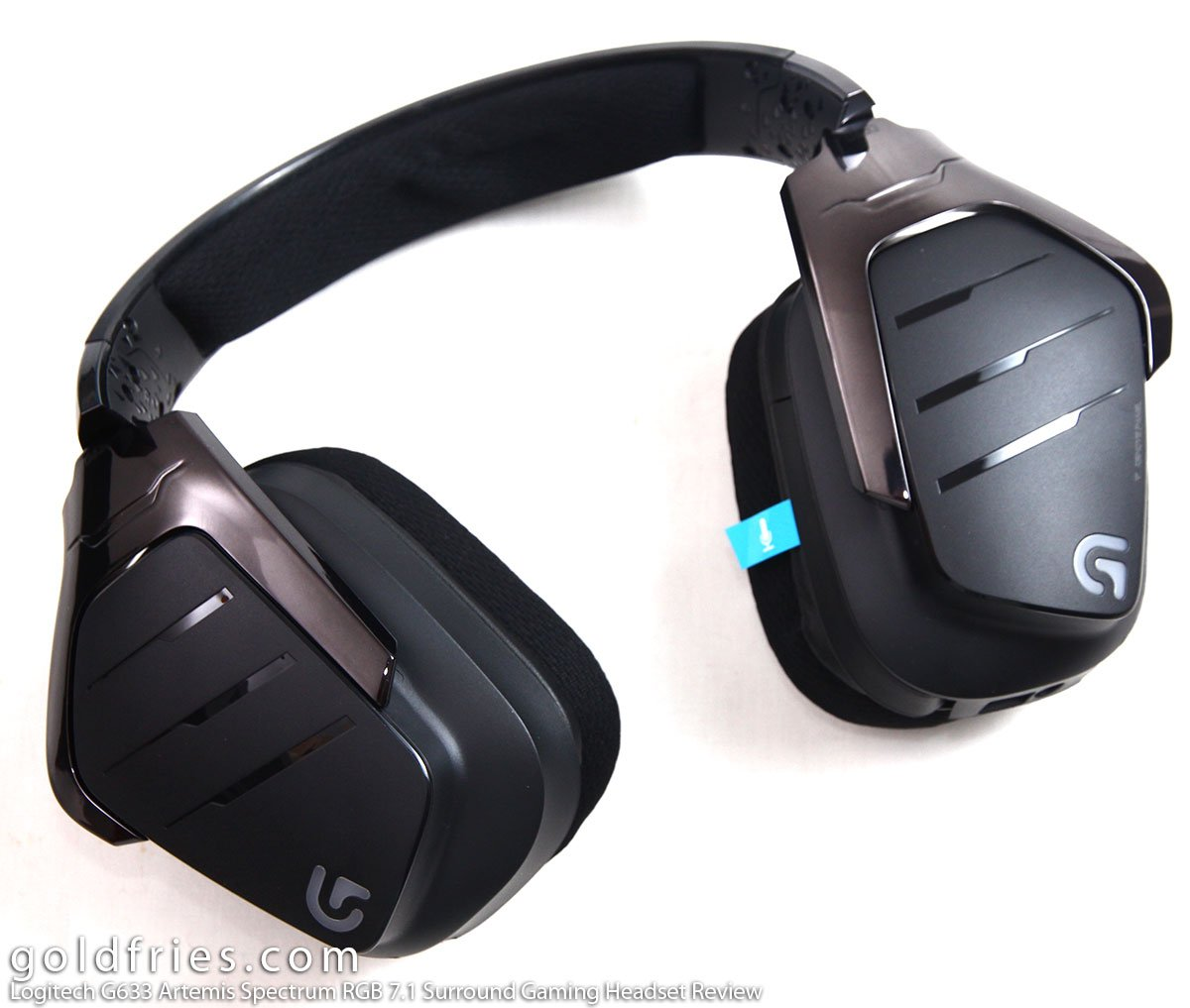 Logitech G633 Artemis Spectrum RGB 7.1 Surround Gaming Headset Review 5