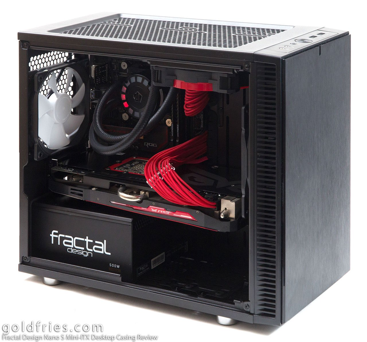 Fractal Design Nano S Mini-ITX Desktop Casing Review 1