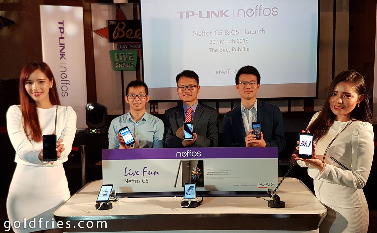 Neffos Launches the C5 and C5L Android Smartphone 3