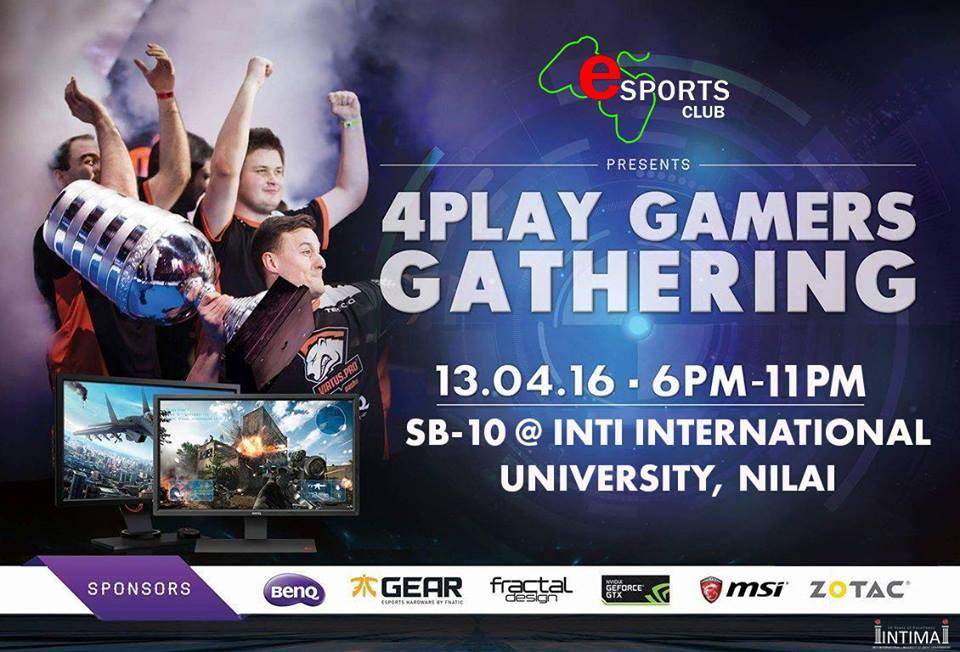 4Play Gamers Gathering at INTI International University  3
