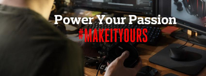 Power Your Passion and #MakeItYours with Cooler Master 2