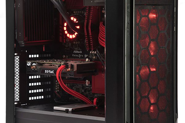SilverStone Redline Series RL05 Desktop Casing Review 1