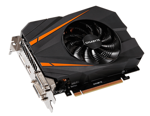 Gigabyte GeForce GTX 1070 Mini ITX OC - the R9 Nano Killer 3