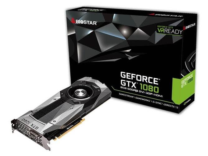 BIOSTAR Releases the GeForce GTX 1080 Graphics Card 1
