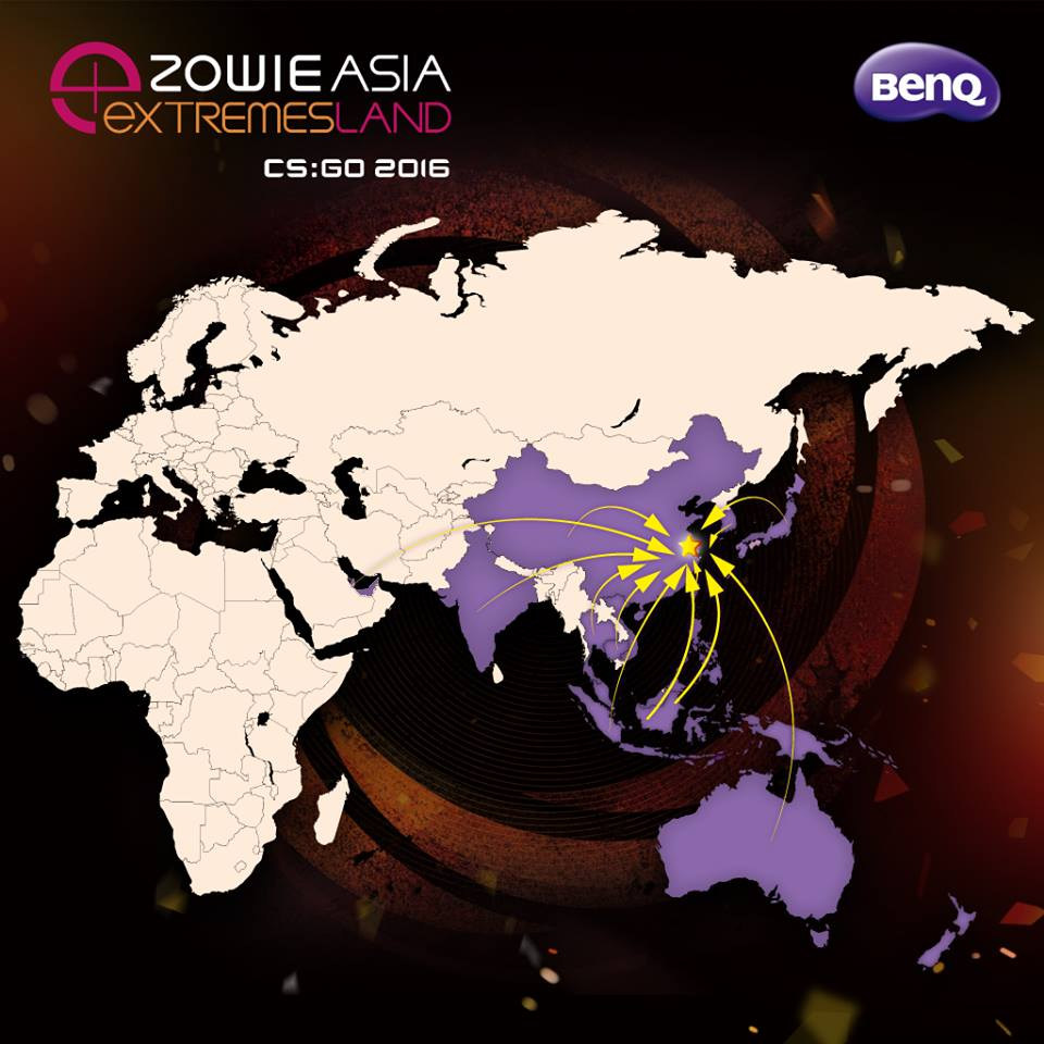 eXTREMESLAND ZOWIE Asia CS:GO 2016 Malaysia Qualifiers Happening Soon 1